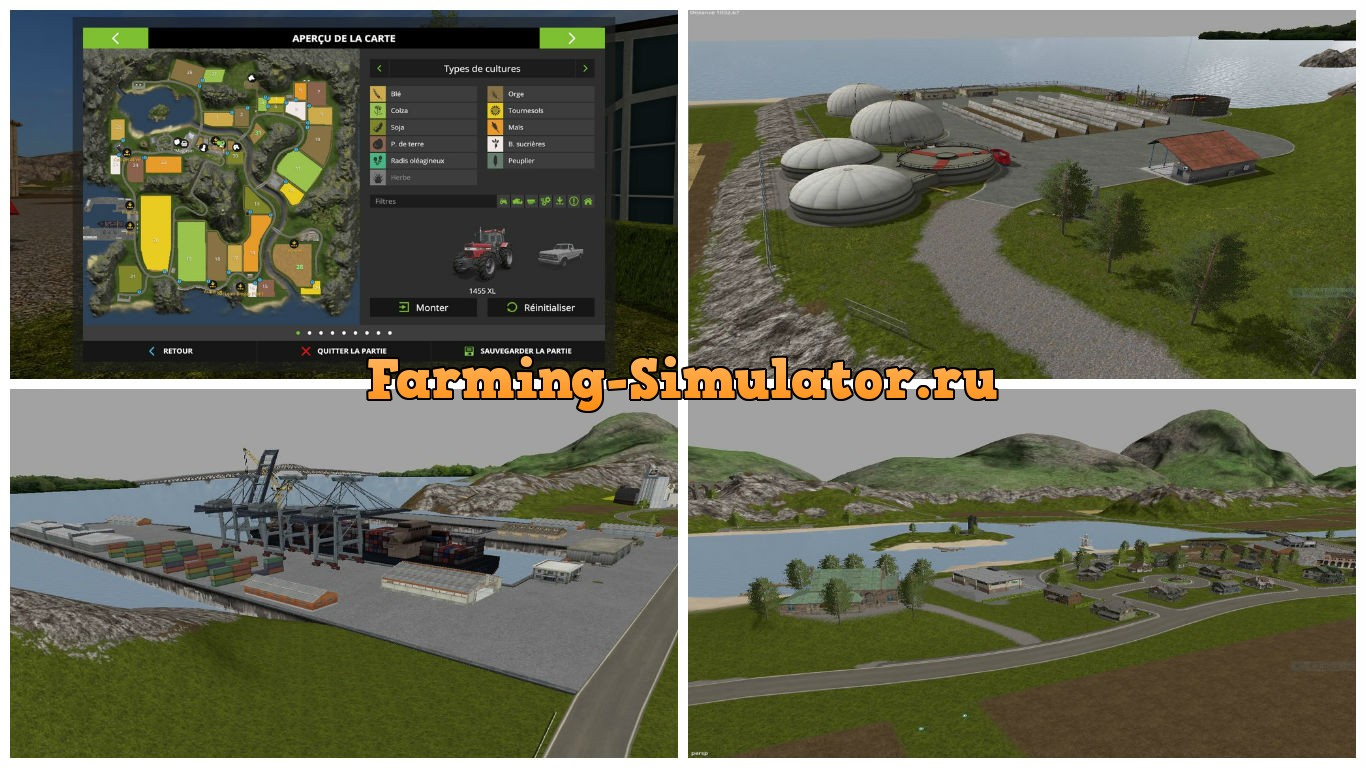 Мод карта Farming Legend v1.0.0.3 Farming Simulator 2017