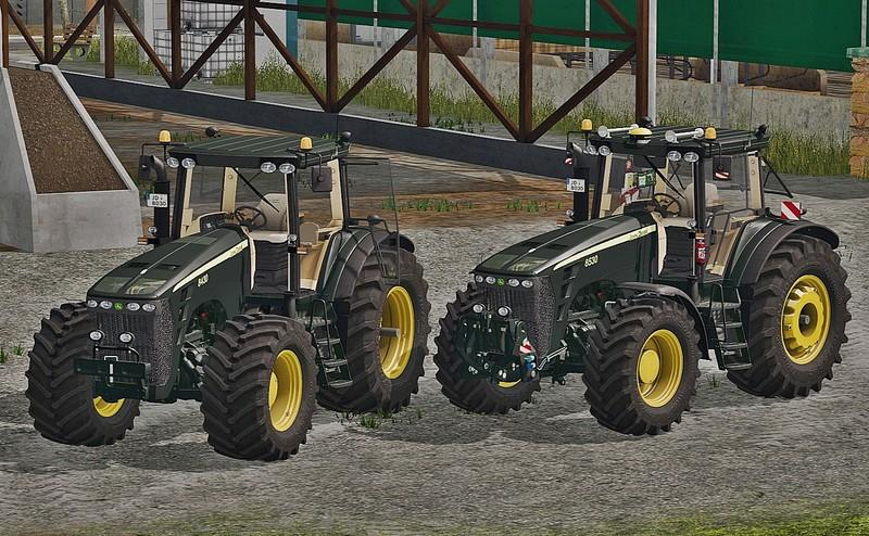 Мод трактор John Deere 8030 Series (Black Limited) v 1.0 Farming Simulator 17