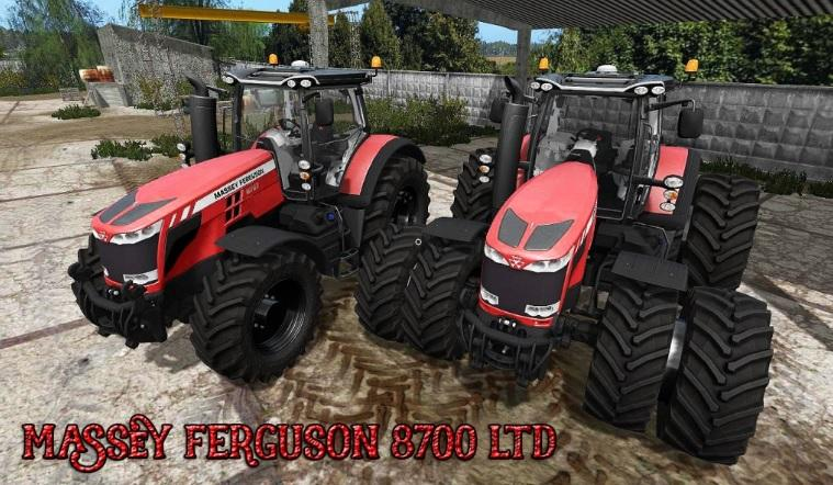 Мод трактор Massey Ferguson 8700 LTD v 1.2 Farming Simulator 2017