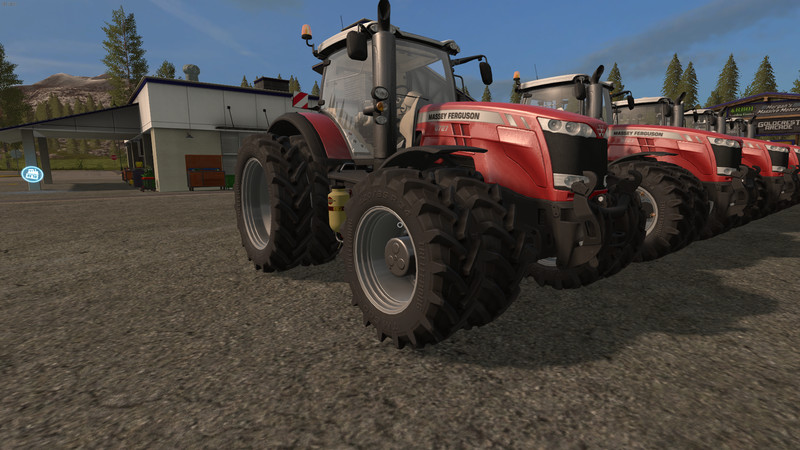 Мод трактор Massey Ferguson 8700 Series v 1.0.0.0 Farming Simulator 2017