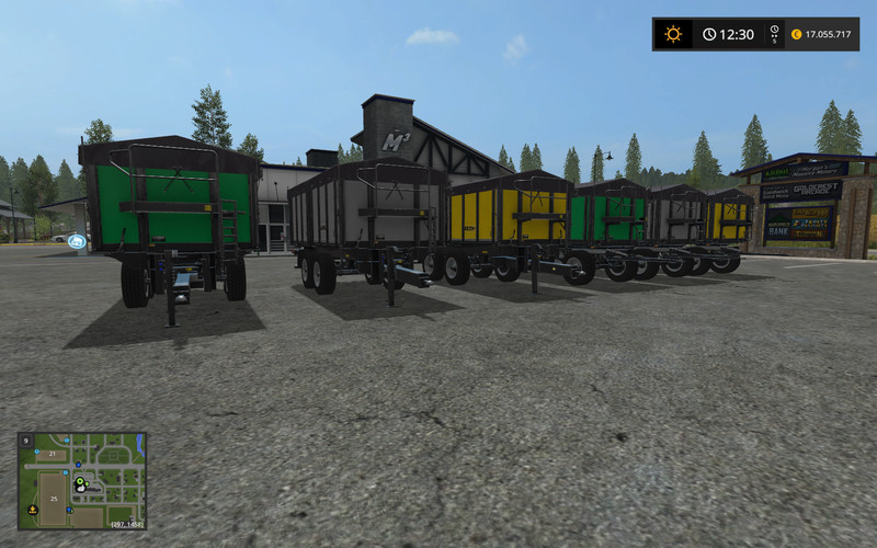 Мод прицепы Wielton Agro Trailer Pack V 1.3.0.0 Farming Simulator 2017