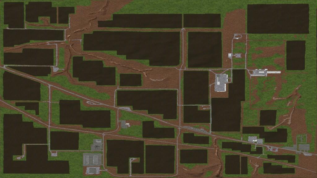 Мод карта North West Texas 4X v1.0.0.0 FS17