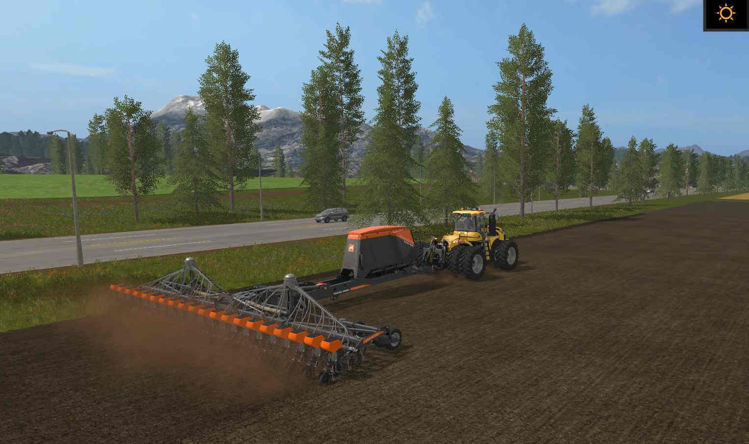 Мод сеялка AMAZONE 20 ROW UNIT PLANTER V1 FS17