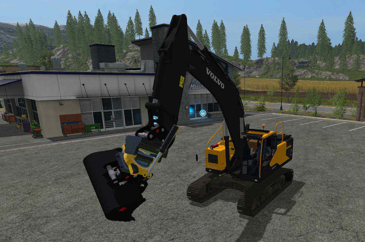 Мод ПАК VOLVO EC300E and equipment v1.0 FS17