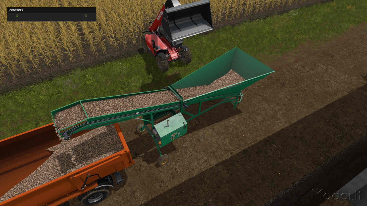 Мод Armer Salmon 120 Cleaner Loader v 1.0 Farming Simulator 2017