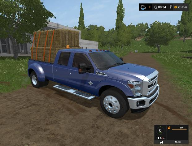 Мод авто F-350 Super Duty v 1.0 Farming Simulator 17
