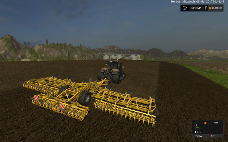 Мод культиватор KOECKERLING ALLROUNDER V1 Farming Simulator 2017