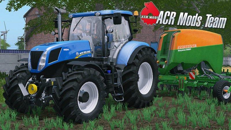Мод трактор New Holland T7 FL v 2.2 FS17