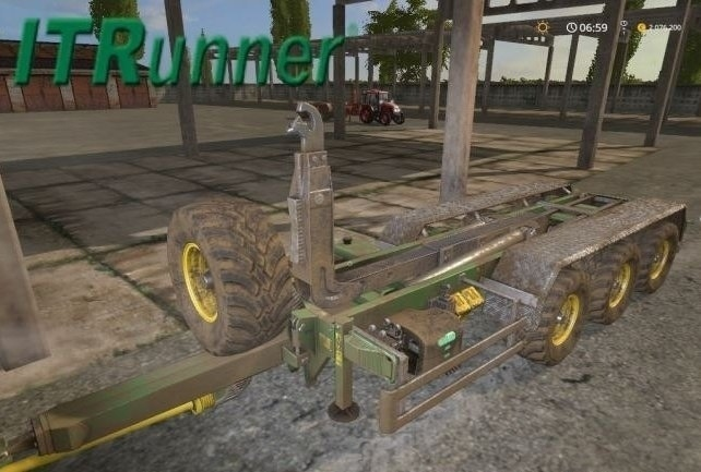 Мод прицеп ITR 26.33 HD v 1.1 Farming Simulator 17