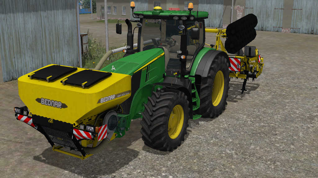 Мод ПАК BEDNAR TERRALAND TN_PROFI AND FERTIBOX V1 FS17