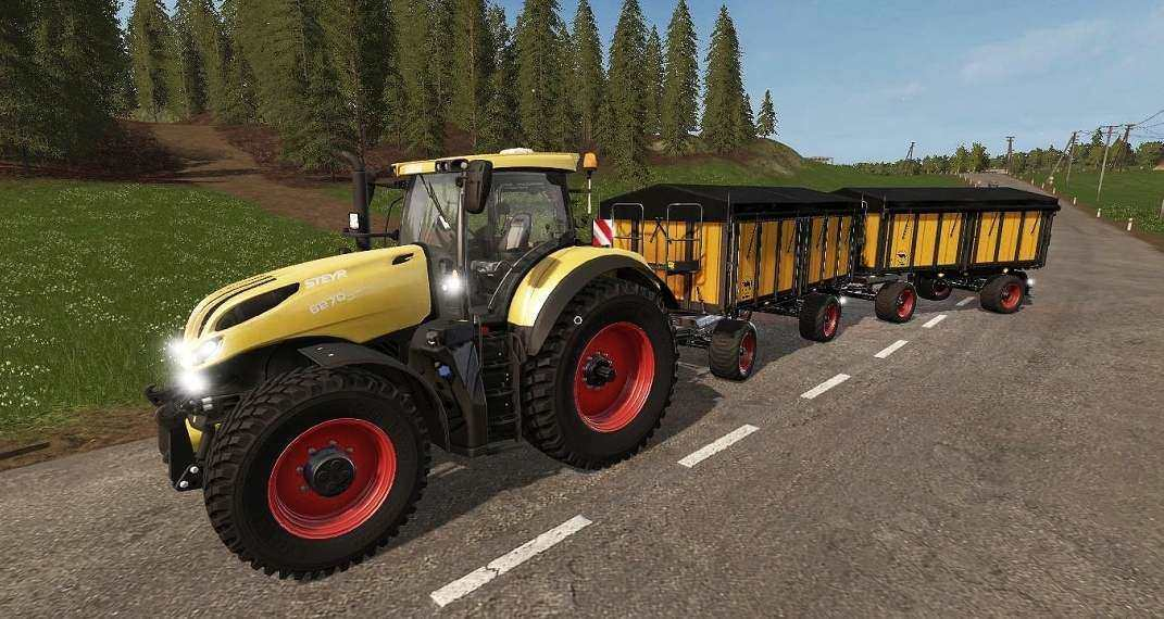 Мод прицеп Wielton PRC2 W14D LTD 2.0.0 Farming Simulator 17