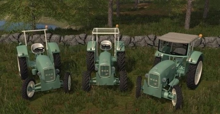 Мод трактор Man 4p1 1963 v 2.0 Farming Simulator 2017