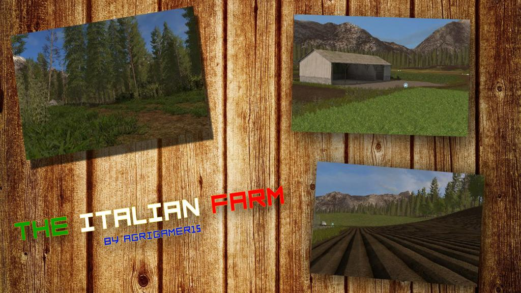 Мод карта The Italian Farm v 1.1 FS17