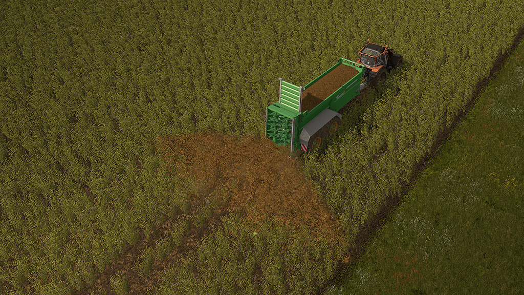 Мод топтание посевов 4REAL MODULE 01 - CROP DESTRUCTION V1.0.4.0 Farming Simulator 2017
