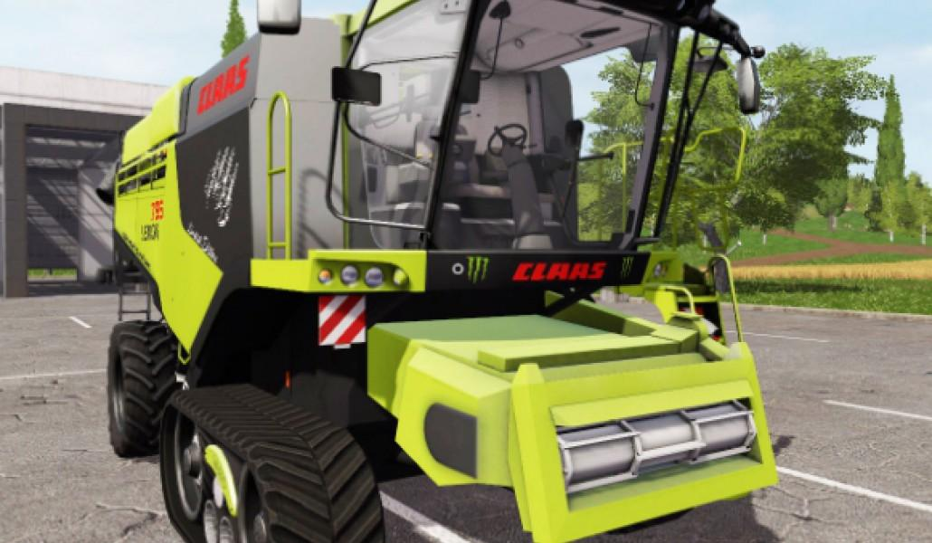 Мод комбайн CLAAS LEXION 795 LIMITED EDITION Farming Simulator 17