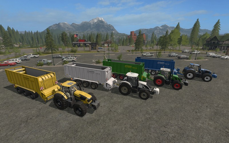 Мод прицеп STRAUTMANN TERA VITESSE 5201 DO COLORABLE V1.0 Farming Simulator 17