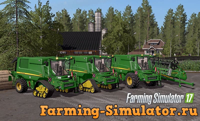Мод комбайн JOHN DEERE T660I/T670I V4.1 FINAL FULL FS17