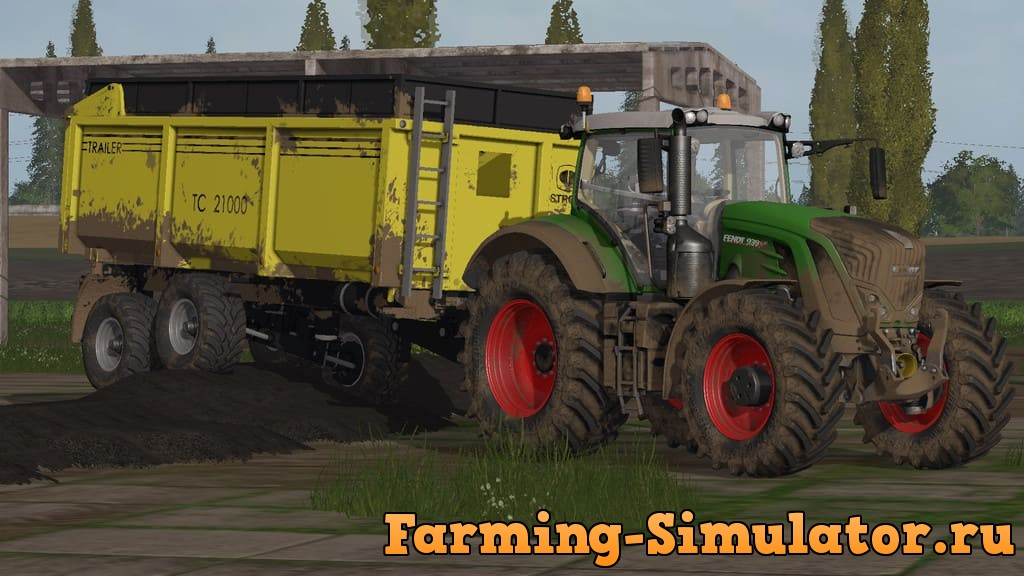 Мод прицеп STROM TC 21000 V1.0.0.0 Farming Simulator 2017