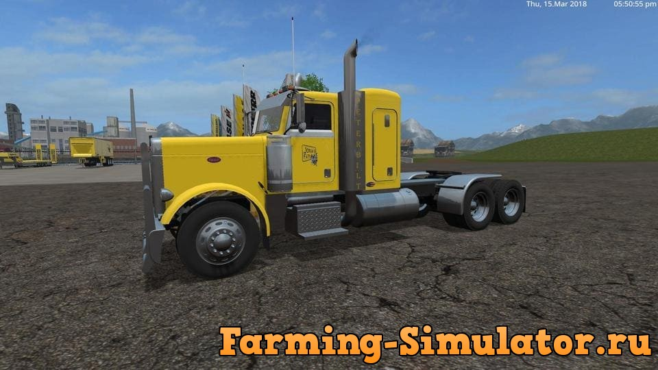 Мод ПАК тягачей USA TRUCK PACK V1.0 Farming Simulator 2017