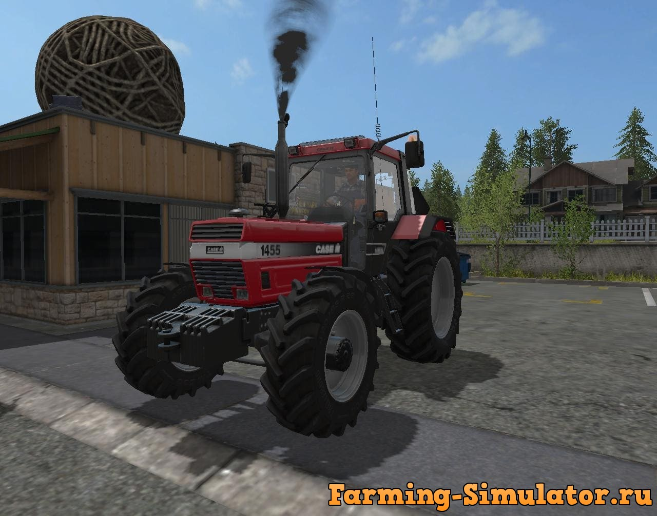 Moд трактор CASE IH 1455 XL V1.0 Farming Simulator 17
