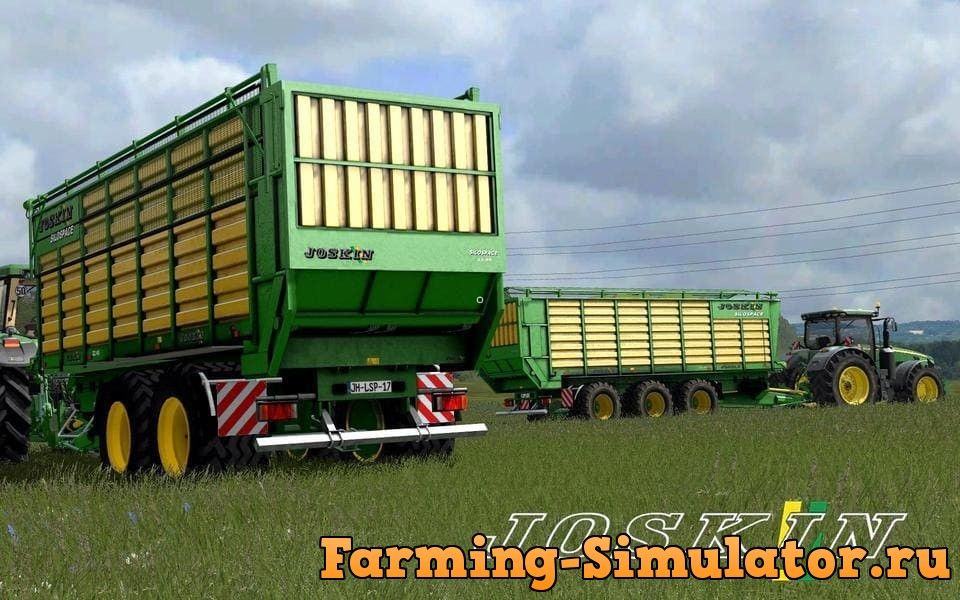 Мод прицепы JOSKIN SILOSPACE PACK MR V1.1.2.2 Farming Simulator 17