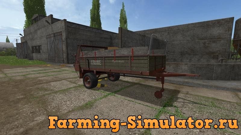 Мод прицеп KRONE OPTIMAT MISTSTREUER V1.0.0 Farming Simulator 2017