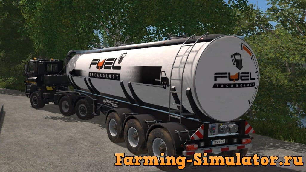 Мод ПАК прицепы TANK TECH TANKER PACK V1.0.0.0 FS17