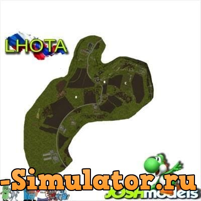 Мод карта LHOTA MAP V2.6.0.5 FIXED Farming Simulator 2017