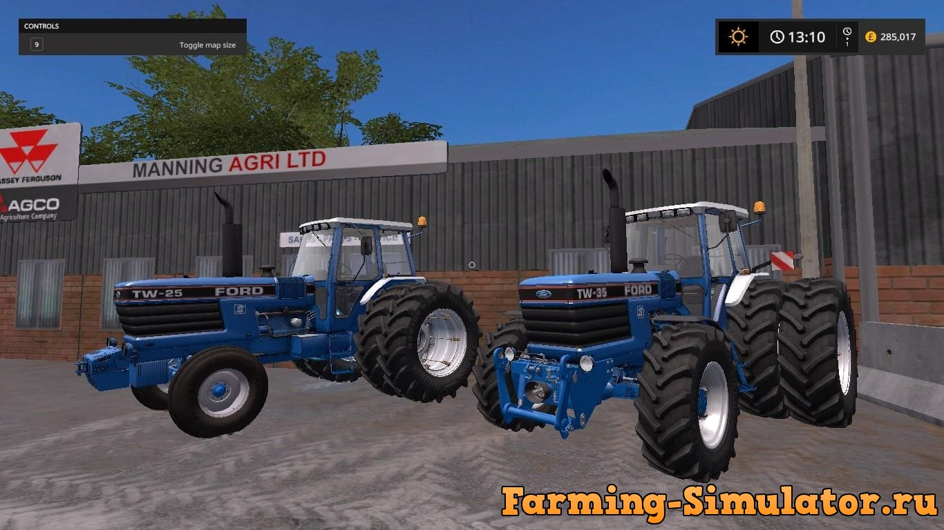 Мод ПАК Ford TW Pack v1.2.0 Farming Simulator 2017