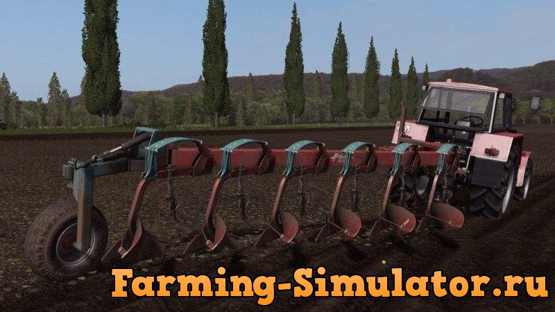 Мод плуг KVERNELAND BE 6 V1.0 Farming Simulator 2017