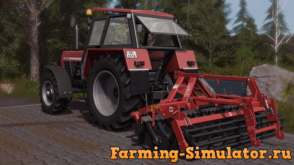 Мод культиватор METALFACH U741/1 V1.10.0 Farming Simulator 2017