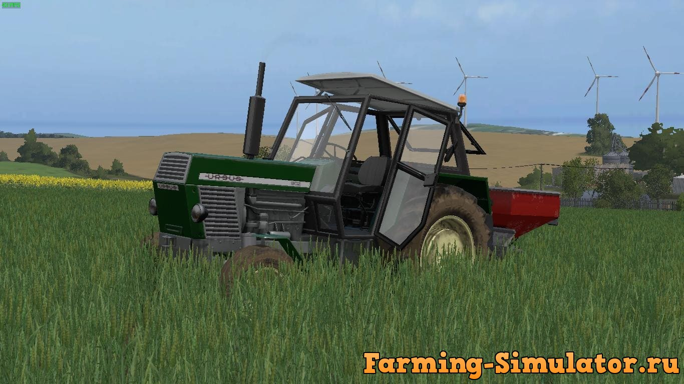 Мод трактор URSUS 902 CZARNEL EDIT V1.0 Farming Simulator 17
