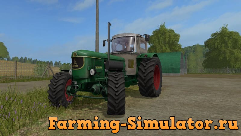 Мод трактор Deutz 9005A V 0.9 Farming Simulator 2017