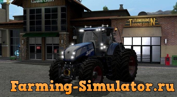 Мод трактор New Holland T7 290/315/CHIP v2.1.0 FS17