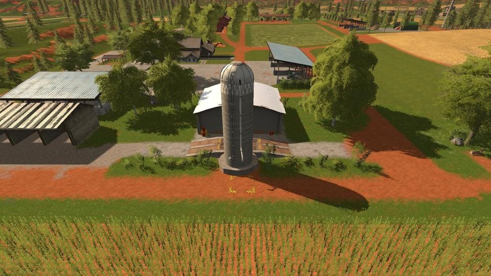 Мод карта GOLDCREST VALLEY PLATINUM EDITION V1.0.0.3 Farming Simulator 2017