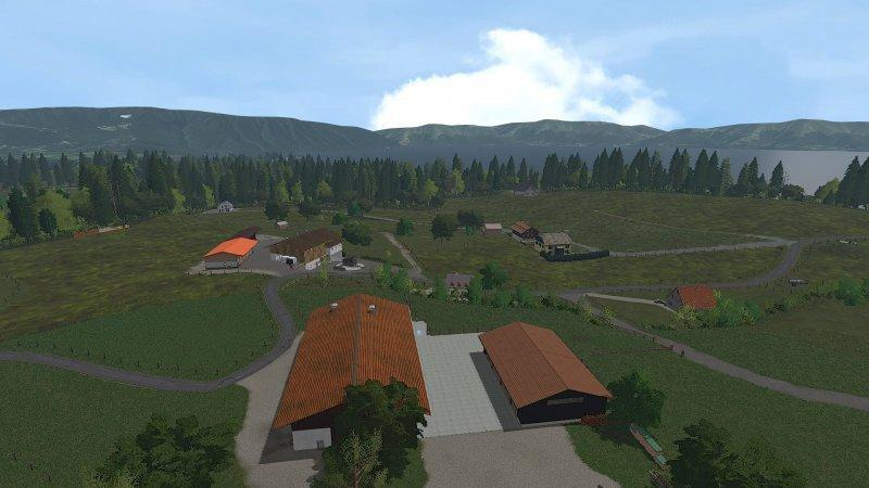 Мод карта HOLZER MAP V1.3.0 Farming Simulator 2017