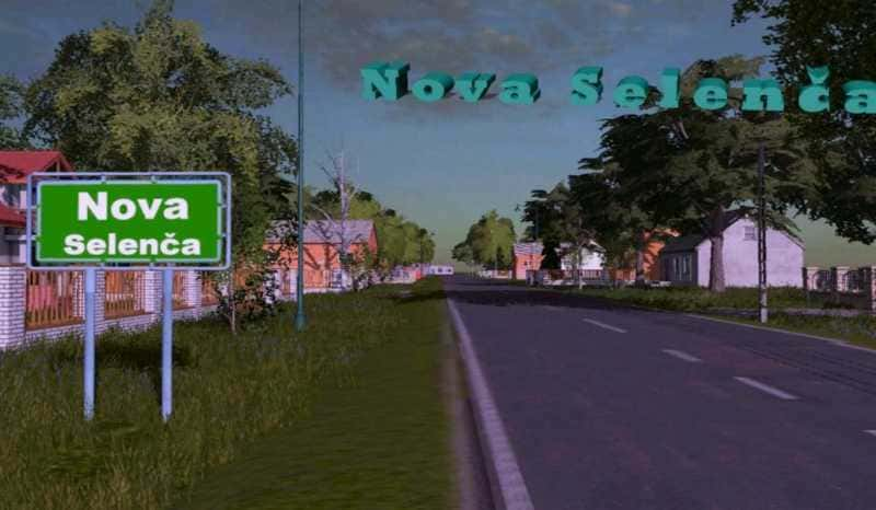 Мод карта NOVA SELENCA MAP V1.2 Farming Simulator 2017