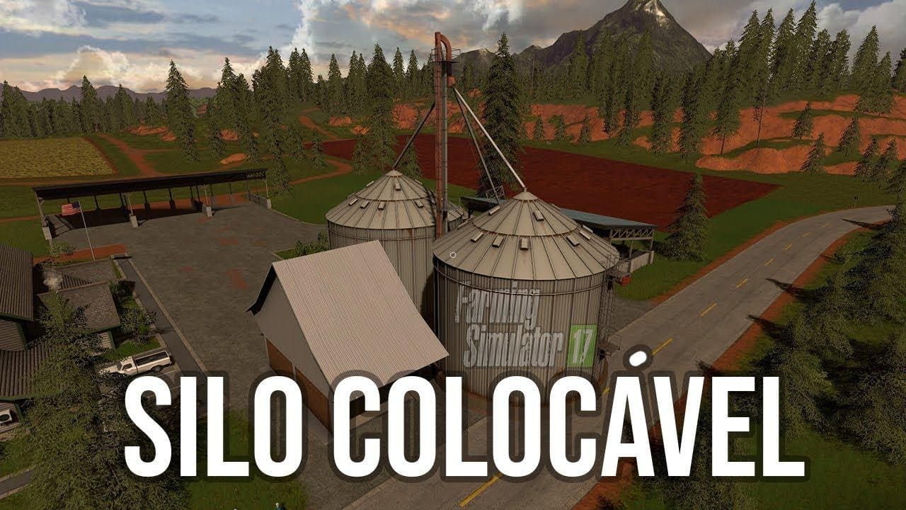 Мод хранилище SILO DLC COLOCAVEL V1.0 Farming Simulator 2017