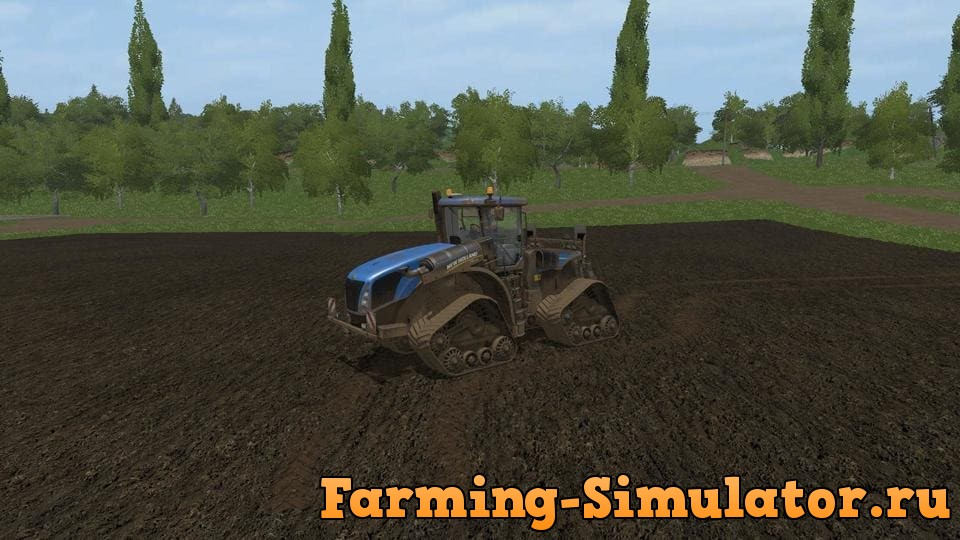Мод трактор NEW HOLLAND T9565 SMARTTRAX V1.0 Farming Simulator 2017