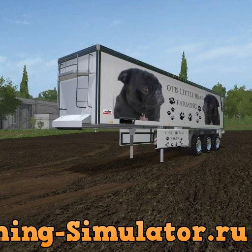 Мод прицеп OTIS LITTLE BEAR FARMING TRAILER BULK V1.0 FS17