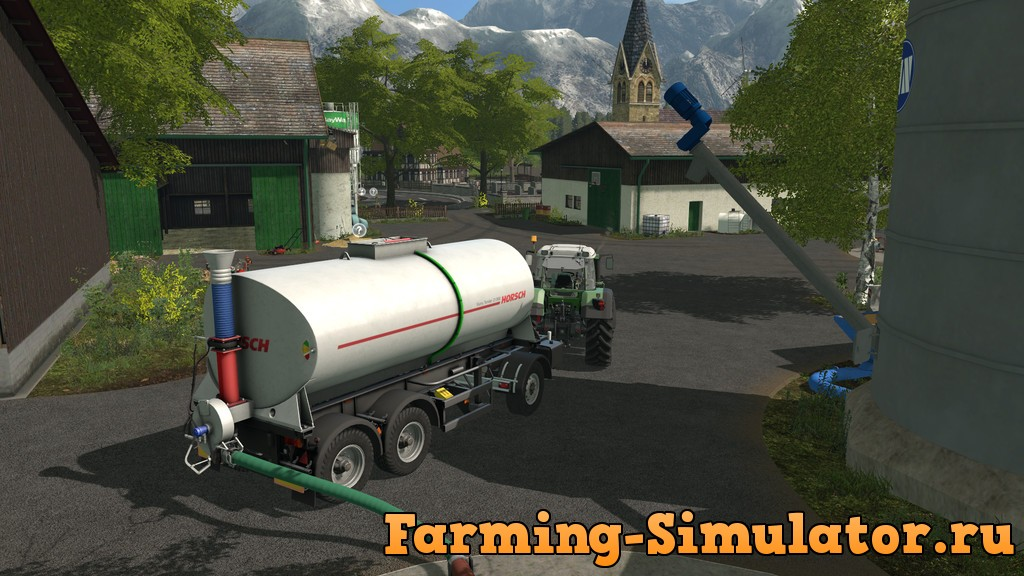 Мод цистерна SLURRY TENDER 21.000 V1.0.0.0 Farming Simulator 17