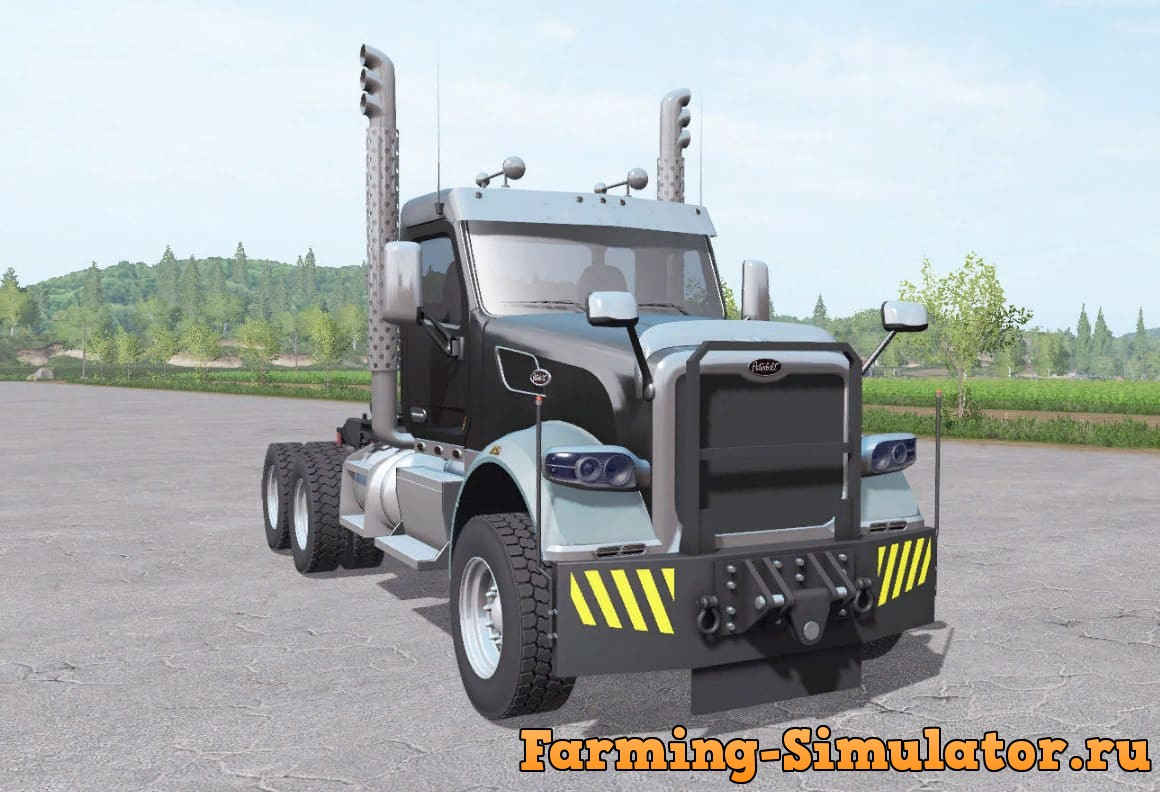Мод тягач PETERBILT 567 DAY CAB MORE CONFIGURATIONS V1.0 FS17