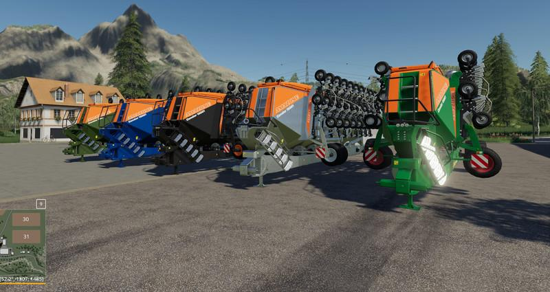 Мод сеялка Amazon Condor 15001 multiFruit stainless steel v1.0 FS19