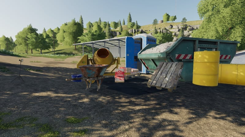 Мод construction Accessories V 1.0.0.0 FS19