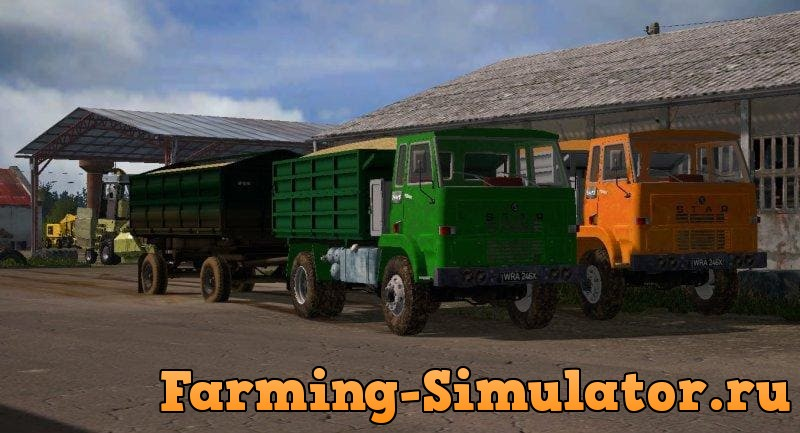 Мод грузовик STAR 244RS V1.0 Farming Simulator 2017