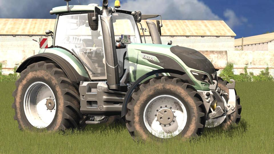 Мод трактор VALTRA T SERIES MR V1.3.0.0 Farming Simulator 2017