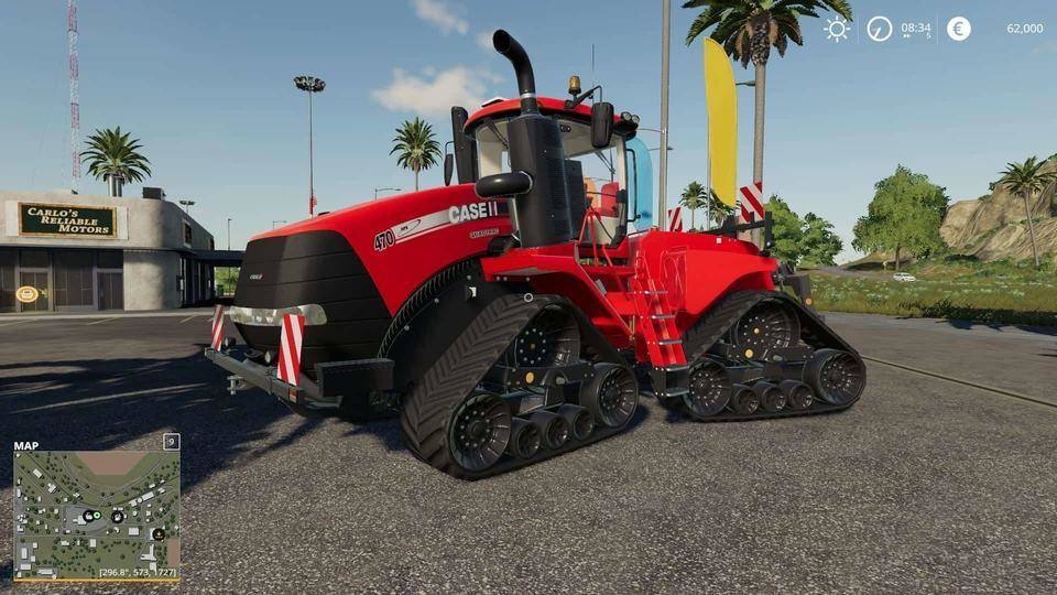 Мод трактор Case IH QuadTrac By Tinman v1.0.0.0 FS19