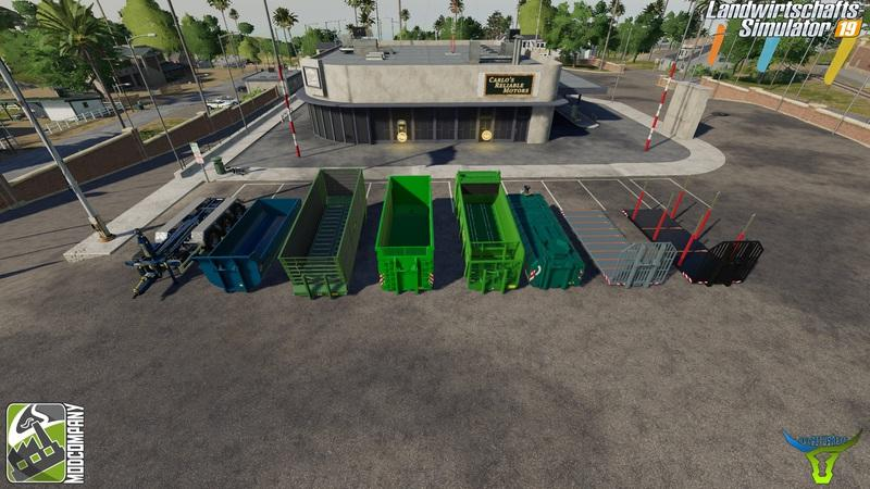 Мод ПАК IT Runner Pack by Bonecrusher6 v1.5.0 FS19