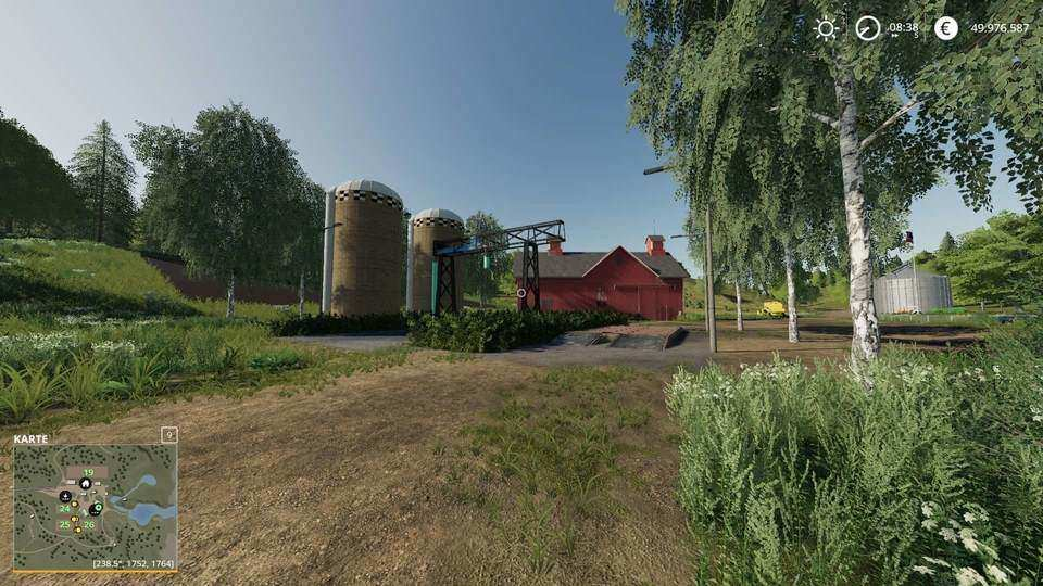 Мод Unloading Station with Deko 1.0 Farming Simulator 19