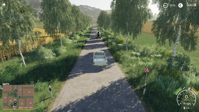 Мод карта Felsbrunn Conversion – Multiplayer capable v1.1 FS19